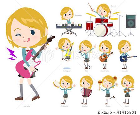 School girl White_pop music 41415801
