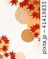 紅葉 和紙 秋のイラスト 41419835