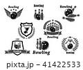 ボウリング ボーリング アイコンのイラスト 41422533