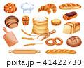パン ブレッド 食のイラスト 41422730