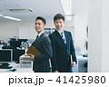 ビジネス ビジネスマン 手帳の写真 41425980
