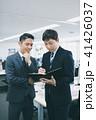 ビジネス ビジネスマン 手帳の写真 41426037