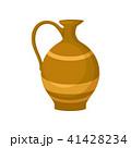 ジャグ 陶器 ベクターのイラスト 41428234