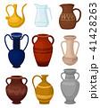 ジャグ 陶器 ベクトルのイラスト 41428263