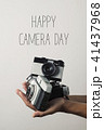 film camera and text world photography day 41437968