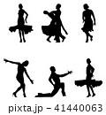 ダンス 舞う 舞踊のイラスト 41440063