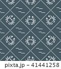 カニ 振る 海のイラスト 41441258