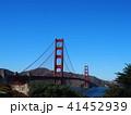 ゴールデンゲートプリッジ サンフランシスコ 41452939