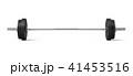 バーベル 立体 3Dのイラスト 41453516