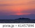 軍艦島の夕陽 ながさきサンセットロード 【長崎県長崎市高浜町】 41457896