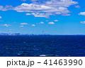 東京湾 海 青空の写真 41463990