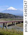富士山 山 晴れの写真 41465247