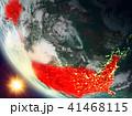 地球 大地 アメリカ合衆国のイラスト 41468115