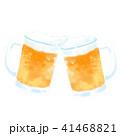 ビール お酒 ジョッキのイラスト 41468821