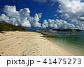 風景 海 晴れの写真 41475273