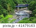 ローカル線 小海線 川の写真 41479163