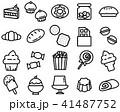 アイコン イコン 罫のイラスト 41487752