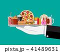 ベクトル 食 料理のイラスト 41489631