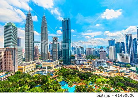 マレーシア クアラルンプールの街並み 41490600