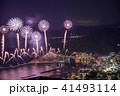 (静岡県)熱海100万ドルの夜景と海上花火 41493114