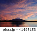 富士山 夕景 夕焼けの写真 41495153