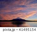 富士山 夕景 夕焼けの写真 41495154