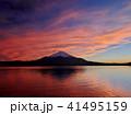 富士山 夕景 夕焼けの写真 41495159