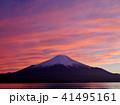 富士山 夕景 夕焼けの写真 41495161