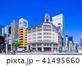 東京 銀座 四丁目交差点の風景 41495660