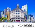 東京 銀座 四丁目交差点の風景 41495661