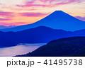 《神奈川県》箱根大観山から富士山夕景 41495738