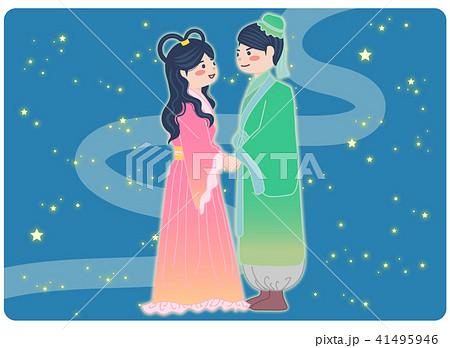 織り姫と彦星 41495946