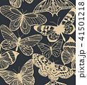 蝶 デザイン 柄のイラスト 41501218