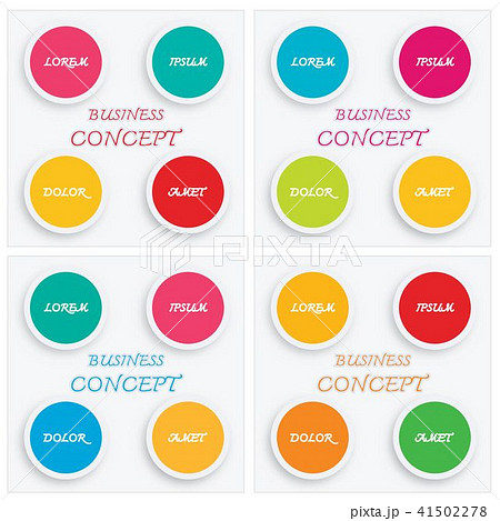 Set of Infographic Elements Templates for Business 41502278