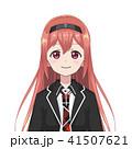 キャラクター 文字 字のイラスト 41507621