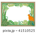 ジャングル額縁フレーム・背景透明 41510525