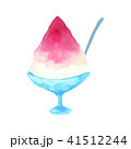 かき氷 デザート スイーツのイラスト 41512244