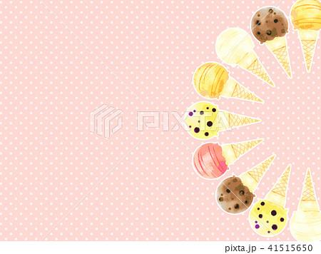 アイスクリームの背景 41515650