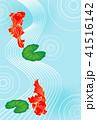 夏 金魚 水流のイラスト 41516142
