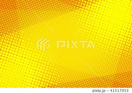 Yellow halftone background 41517053