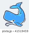 くじら クジラ 鯨のイラスト 41519459