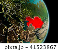地球 大地 カザフスタンのイラスト 41523867