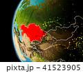 地球 大地 カザフスタンのイラスト 41523905
