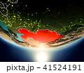 地球 大地 カザフスタンのイラスト 41524191