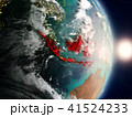 地球 大地 インドネシアのイラスト 41524233