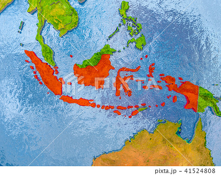 Map of Indonesia 41524808