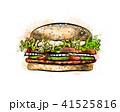ハンバーガー バーガー ベクトルのイラスト 41525816