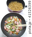 ソース焼きそば 麺と具材を別々に炒める(ベチャッとならない作り方) 41526399