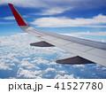 空撮 飛行機 くもの写真 41527780
