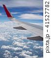 空撮 飛行機 くもの写真 41527782